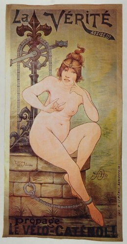 1973 Print Poster Ad Vintage Catenol French Bicycle Nude Female Woman Risque Art - 1973 Color Print