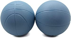 BTF Play Toddler Kids Replacement Basketball 2 Pack (Blue)