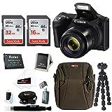 Canon PowerShot SX420 is 20 MP Digital Camera w/ 48GB Accessory Bundle