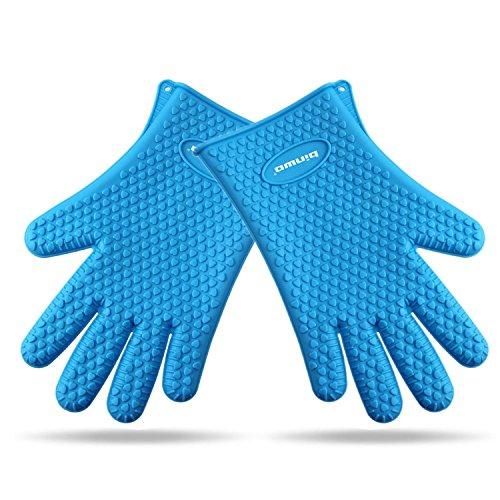 Binwo BBQ Grill Gloves, Versatile Heat Resistan...