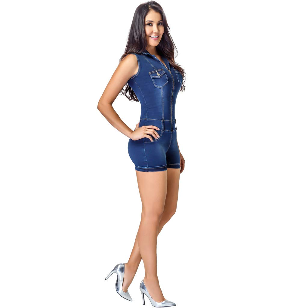 e770c0b54a Lowla Denim Jumpsuit Romper Women