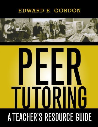 Peer Tutoring: A Teacher's Resource Guide