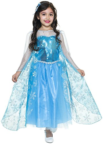 Charades Costumes Ice Queen - Medium (8-10)