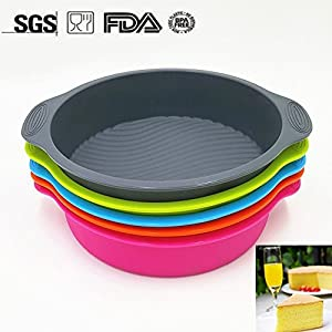 4 Steel Frame Silicone Baking Set-1105