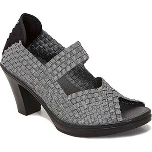 Bernie Mev Mujeres Clyde Zapatos Casuales Con Talón De Peltre