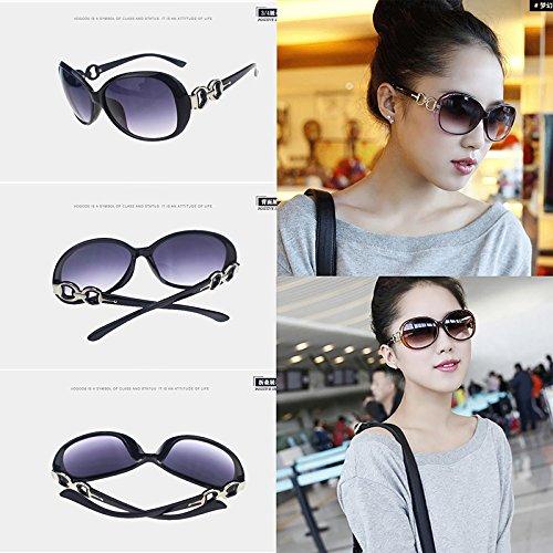Polarizadas Xuxuou de Vintage Señoras Gafas Color4 Gafas Conveniente Conductor Gafas Gafas Protección Casuales Sol UV Gafas Protección para Viajar rPwq5PRO