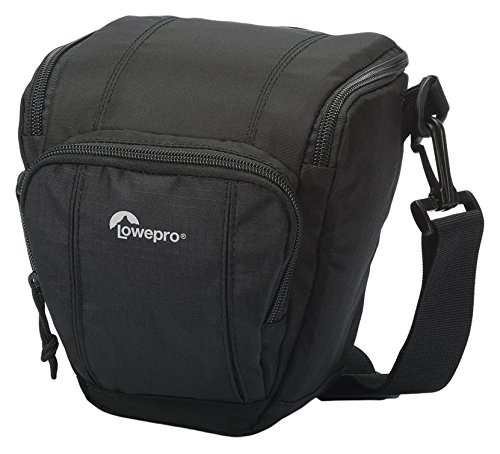 Black Shoulder Bag, Shoulder Bag, Black, 170/mm, 155/mm, 190/mm /Cases and Covers Lowepro Toploader Zoom 45/AW II Universal Cameras/