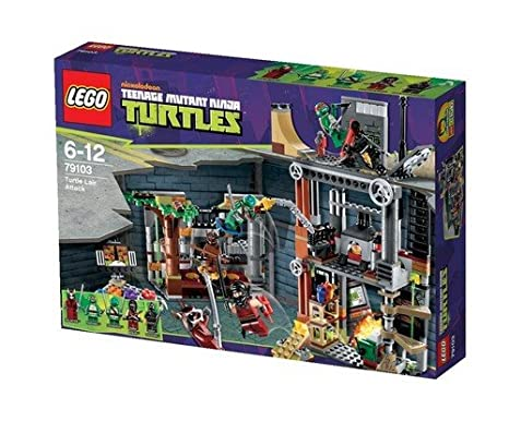 LEGO Teenage Mutant Ninja Turtles Turtle Lair Attack w/ Minifigures | 79103