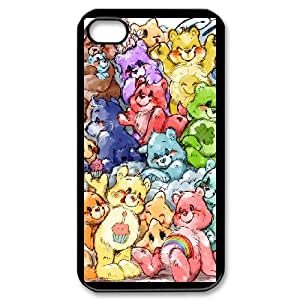 IPhone 4,4S Phone Case for Classic Theme Care Bears Movie Cartoon pattern design