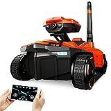 MAUBHYA RC Car Tank YD-211 Wifi FPV 0.3MP Camera App Remote Control Spy Toy Phone Controlled Robot Toys
