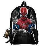 Bebamour New Style Spiderman Patterns Back to School Backpacks Superman School Bags