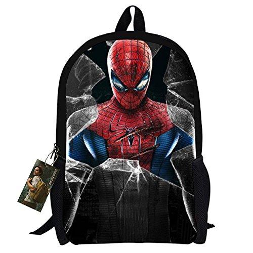 Bebamour Spiderman Patterns Backpacks Superman product image