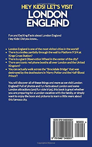 Hey Kids Let S Visit London England Fun Facts And Amazing