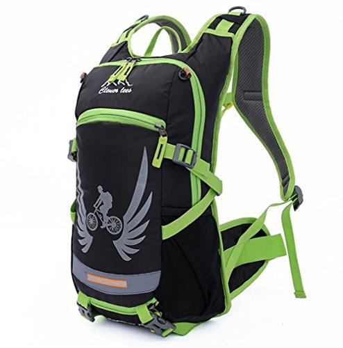 Wmshpeds Equitación Deportes de exterior bolsa bolso de viaje en bicicleta mochila bolsa de agua suministros de equipo de equitación E