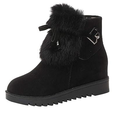 1473ccaf9477 OSYARD Chaussures en Daim Volure Femme