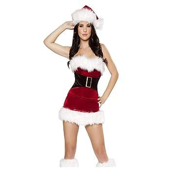 Amazon.com: CVCCV - Disfraz de Navidad con corsé de pelo ...