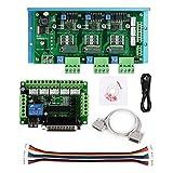 SainSmart CNC Router 3 Axis Kit, TB6600 3 Axis 4.5A Stepper Motor Driver Board, Mach3 5 Axis Breakout Board