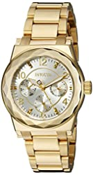 Invicta Women's 22110 Angel Analog Display Quartz Gold Watch