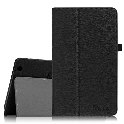 Fintie Case for Azpen 10.1 Yuntab D102, Rotor 10.1 Inch Tablet (Please Check Compatible List in Description), Premium PU Leather Folio Cover with Stylus Holder, Black