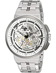 Kenneth Cole New York Mens Automatic Automatic Stainless Steel Dress Watch (Model: 10022315)
