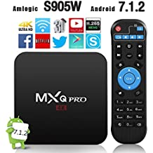 Android TV Box, Globmall T95X Android 6.0 TV Box Marshmallow OS, 4K Full HD/H.265/WiFi [Upgraded Version]