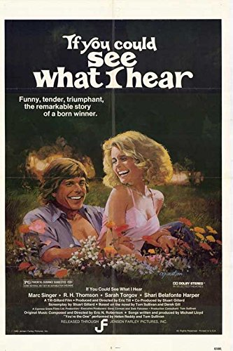 If You Could See What I Hear Poster Marc Singer R.H. Thomson Sarah Torgov