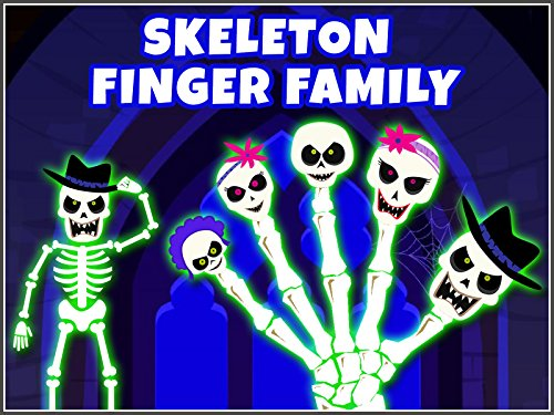 Skeleton Finger Family