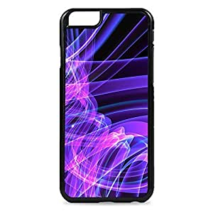 Purple Swirls Snap-on Hard Back Case Cover For HTC One M8
