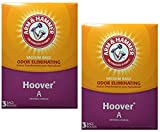 Arm & Hammer Odor Eliminating Vacuum Bags, Hoover A, 3 Count Box, 2-Pack (6 Bags)