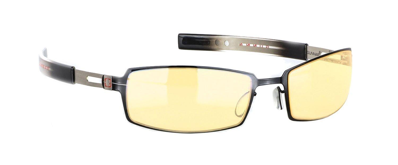 GUNNAR Gaming and Computer Eyewear/PPK, Amber Tint - Patented Lens, Reduce Digital Eye Strain, Block 65% of Harmful Blue Light by Gunnar Optiks