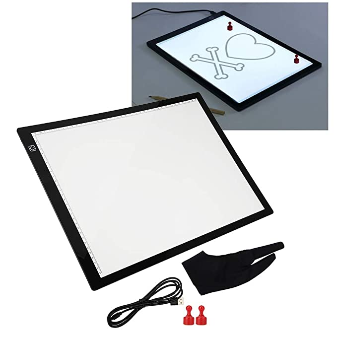 Mesa de Luz Dibujo A3,LED Tableta de Luz con Brillo ...