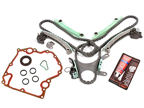 Evergreen TKTCS5047NG Fits 99-08 Dodge Jeep Mitsubishi 4.7 SOHC 16V VIN J, N, P Timing Chain Kit w/o Gears Timing Cover Gaskets