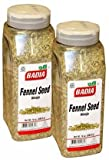 Badia Fennel Whole Seed. 14 oz container .Pack of 2