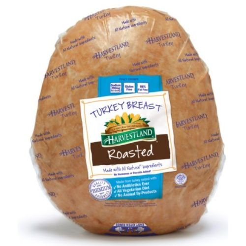 Harvestland Oven Roasted Turkey Breast, 6.5 Pound - 2 per (Oven Roasted Turkey Breast)