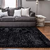 Rugs.com Infinity Collection Solid Shag Area Rug