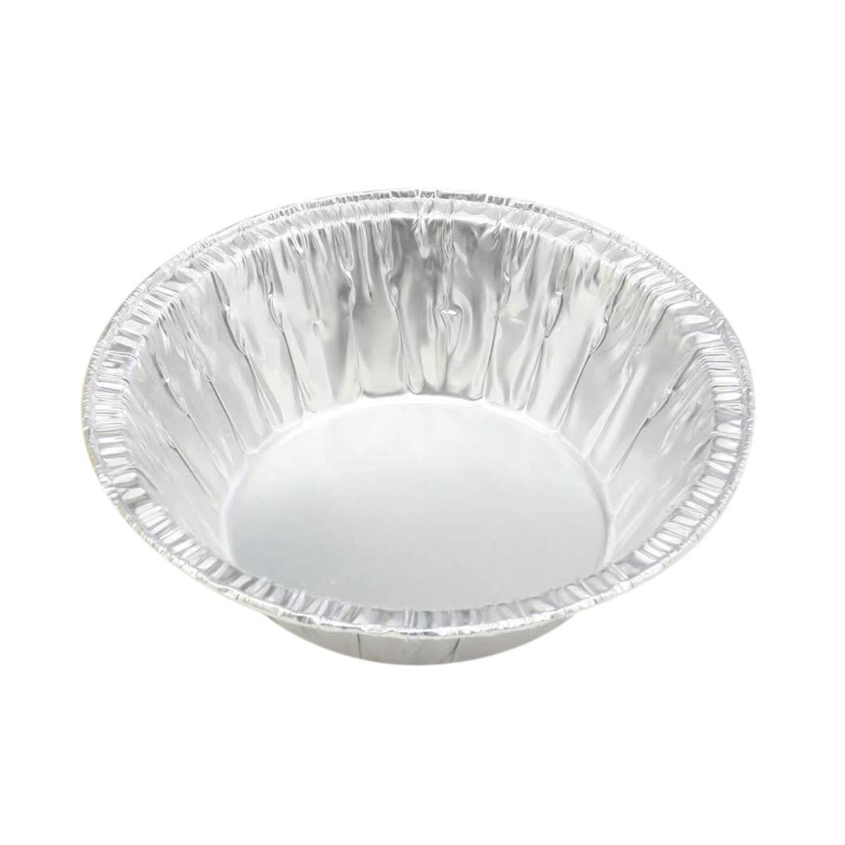 Disposable Aluminum 5 3/4'' Extra Deep Pie Pan/Pot Pie Pan # 575 (500)