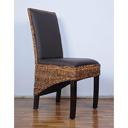 International Caravan SG-3331-1CH-IC Furniture Piece Salma Abaca Dining Chair