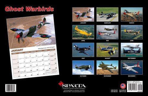 (Ghost Warbirds 2008 Deluxe Wall Calendar)