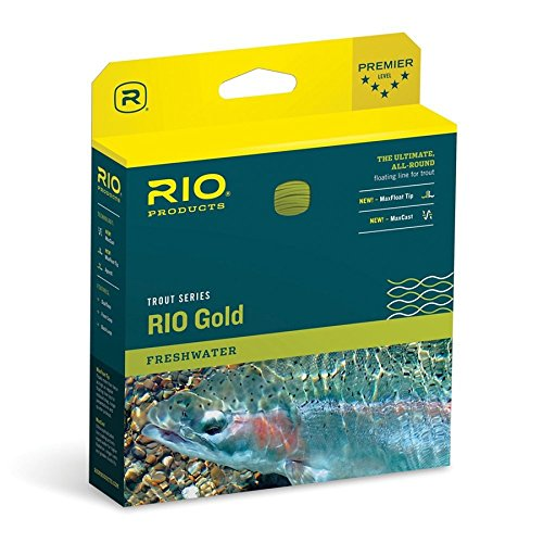 Spey Floating Line - Rio Gold Freshwater Fly Line WF5F Lumalux 6-21210