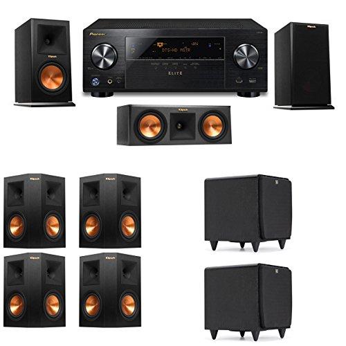 Klipsch RP-150M-E Monitor Speaker 7.2 SDS12 Pioneer Elite VSX 80