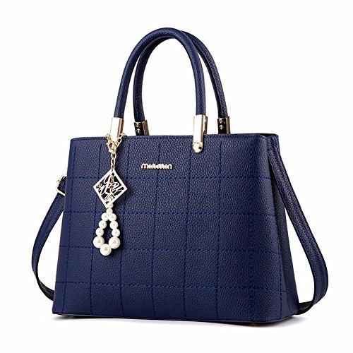 BMKWSG Azul para Bolso Hombro al azul Mujer Azul PWrpqPxw