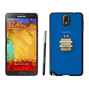 New Fashion Custom Designed Skin Case For Samsung Galaxy Note 3 With FIFA World Cup Argentina Phone Case Cover