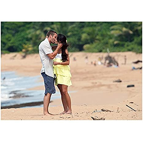 Fast Five Paul Walker Kissing Jordana Brewster On Beach  Inch Photo At Amazons Entertainment Collectibles Store