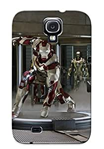 Hot New Iron Man 3 Case Cover For Galaxy S4 With Perfect Design