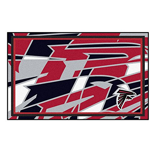 Falcons NFL - Atlanta Falcons4x6 Rug, Team Color, One Sized ()