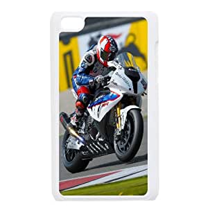 Bmw S00Rr Motorcycle iPod Touch 4 Case White Exquisite designs Phone Case KM441HJH