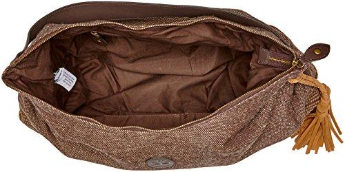 Timberland Damen Hobo Bag Schultertasche, 12x48x48 centimeters Braun (Chocolate Brown)