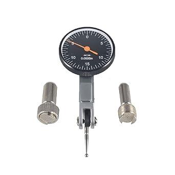 "0005/"" GR Dial Reading 0-15-0 Precision Black 0.030/"" Test Indicator 0"