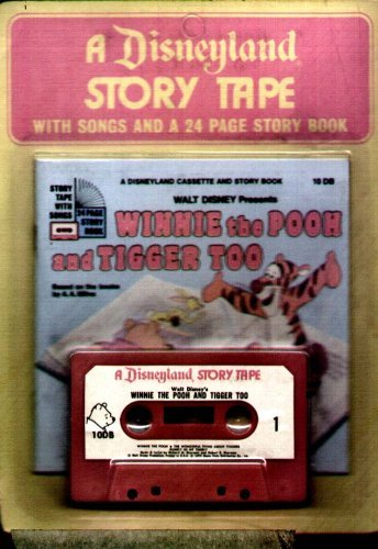 Winnie Pooh Tigger Too Cassette product image
