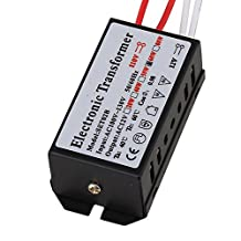 BQLZR 110V to 12v AC 60W Dimmable LED Power Supply Magnetic Transformer Adapter For LED Strip MR11 / MR16